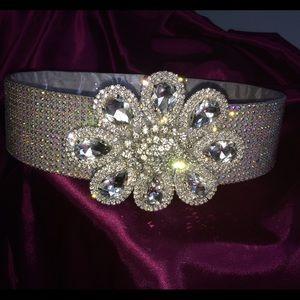 Beautiful rhinestone belt/sash