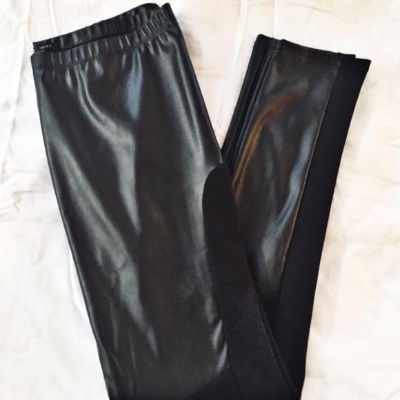 70e731a0dc7a86 Romeo & Juliet Couture Pants | Faux Leather Leggings | Poshmark