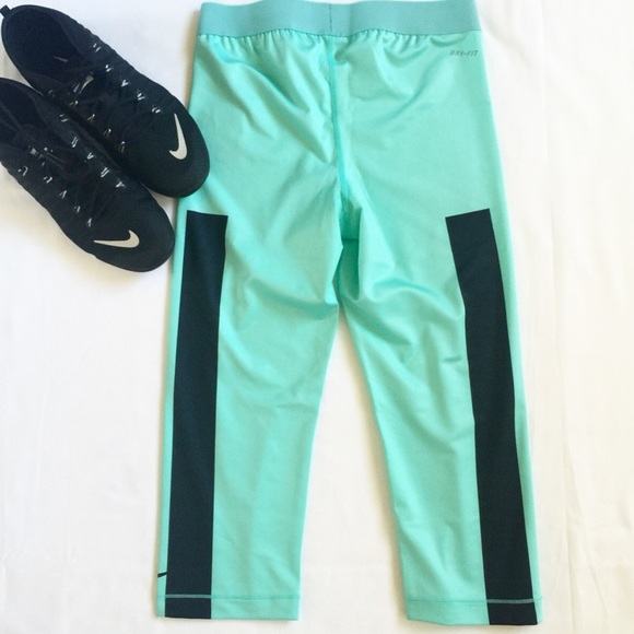 36% off Nike Pants - NWT Nike Pro Dri-Fit Mint Capri Pants! from ...