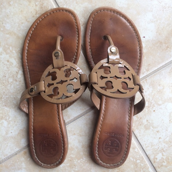 c352ccbf3 Tory Burch Shoes - Tory Burch Miller Sandals - Royal Tan