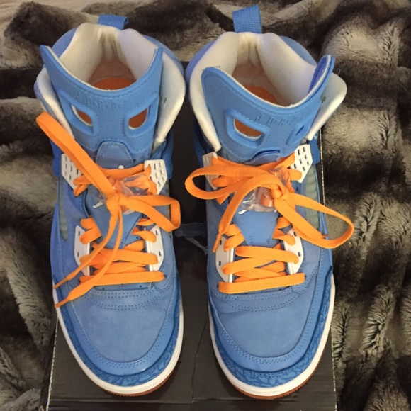 Jordan Orange Baby Spizike Air Nike Blueamp; NO0wPkX8n