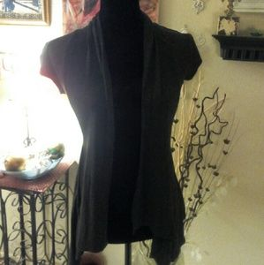 Ambiance Apparel Tops - Charcoal Gray Cardigan