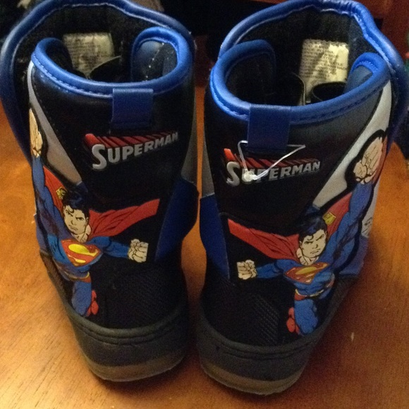 Shoes   Toddler Superman Light Up Boots