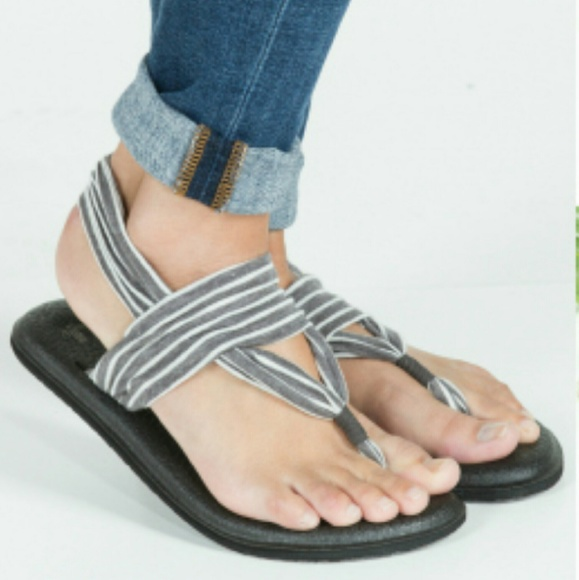 sanuk yoga sling grey Sale,up to 65% Discounts