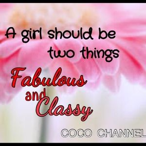 Other - Fabulous and Classy!!