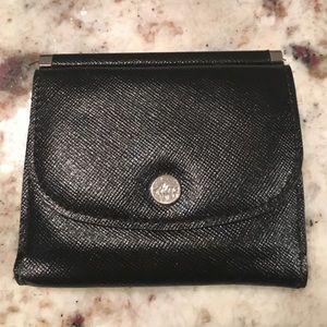 Abas Handbags - Black Mini Wallet! 🦄