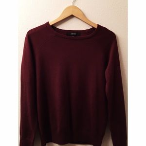 50% off Forever 21 Sweaters -  maroon pullover/sweater  from ...