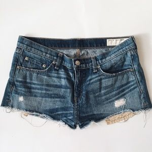rag & bone Pants - rag & bone denim Mila shorts