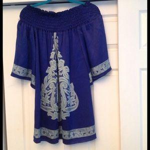 Voom by Joy Han Dresses & Skirts - 💥PRICE DROP💥 Off the Shoulder Silk Dress