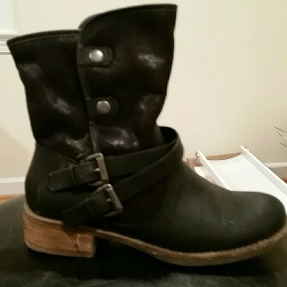 Yuu Shoes | Yuu Boots With Buckles And