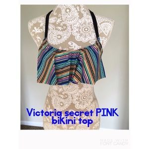 Pink by Victoria secret bathing suit top