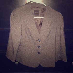 Classic tweed blazer from The Limited