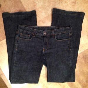 "J. Crew Denim - J Crew Wide Leg Jeans Denim 8 32"" ins"