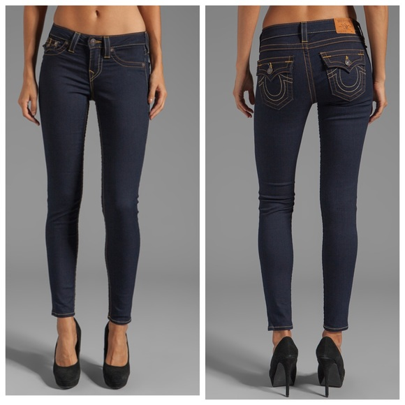 True religion brand jeans 'serena' skinny leg