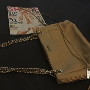 Rebecca  Minkoff beige shoulder bag Auth. $298💖
