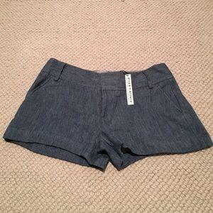 NWT Alice & Olivia Blue Shorts