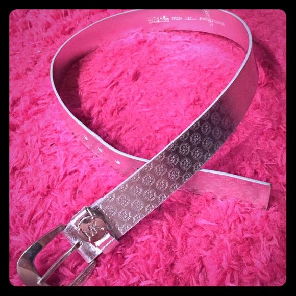 d97da1915d Buy michael kors belt silver   OFF61% Discounted