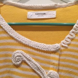 Anthropologie Sweaters - 🎉⛄2X ️HP🎉⛄️ Sparrow Loose Lines Cardi yellow EUC