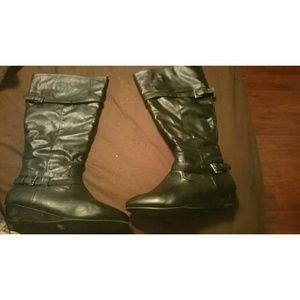 Lane bryant wide calf boots