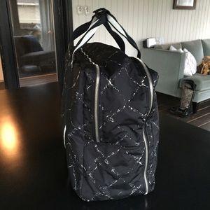 CHANEL Bags - Vintage Chanel Black Line Nylon Travel Luggage Bag 30013ed14a476