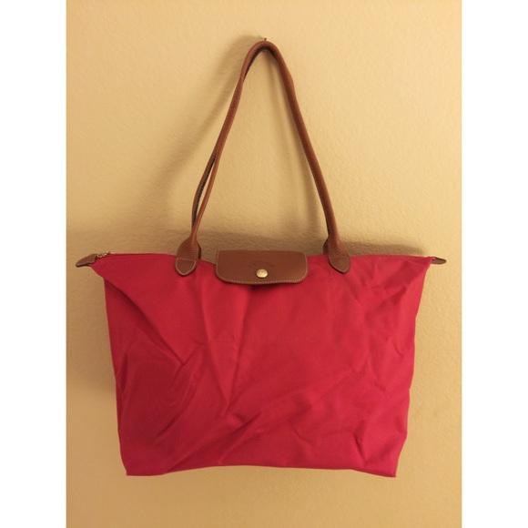 308255715bd Longchamp Bags   Le Pliage Tote Large   Poshmark