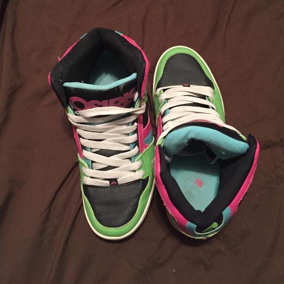 7f11ff7ed90 Shoes   Pink Green Blue And Black Osiris 10   Poshmark