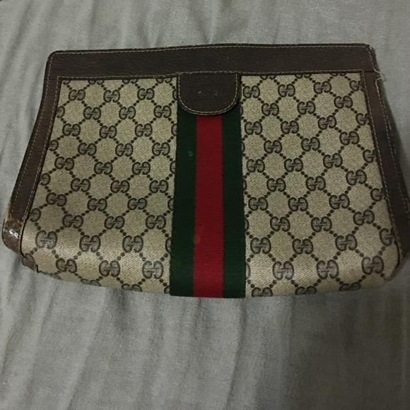 6713aeac957a Gucci Bags | Vintage Clutch | Poshmark