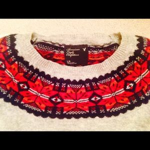 American Eagle Outfitters Sweaters - AEO Winter Fair Aisle Sweater