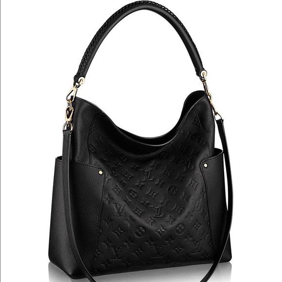 789a00716571 Louis Vuitton Bagatelle Noir  Authentic