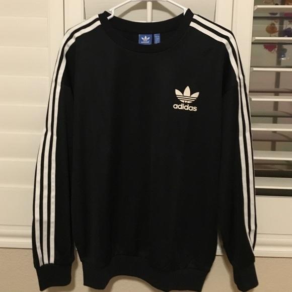 adidas sweatshirt 3 stripes