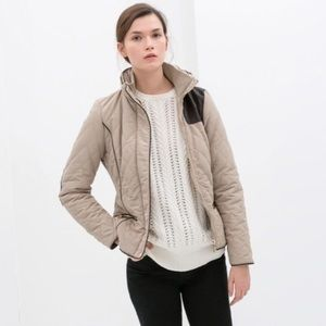 Zara Quilted Jacket