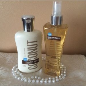 Bath and Body lotion and fragrance mist