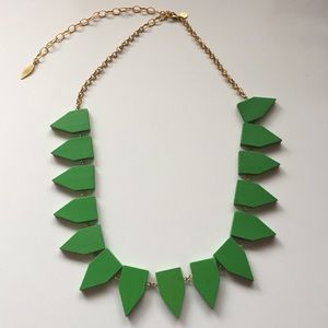David Aubrey wood statement necklace