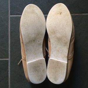 Topshop Shoes - Topshop tan brogues