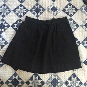 J. Crew Dark Denim Skirt