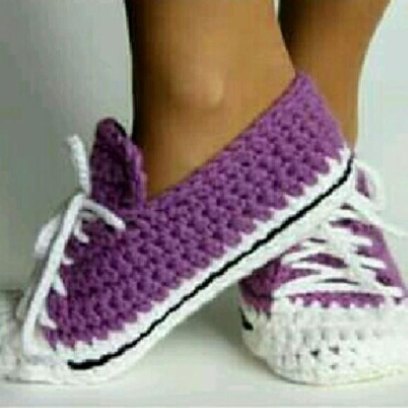 d4f033313a21 Crochet adult nike shoes custom work