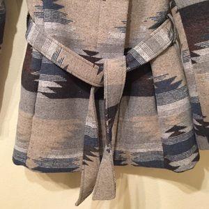 Mossimo Supply Co. Jackets & Coats - Mossimo Aztec Printed Wrap Coat Size S