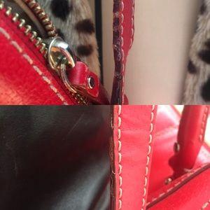 kate spade Bags - Kate Spade New York red leather handbag. Some wear