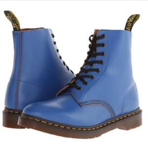 LIKE NEW AUTHENTIC Dr.Marten Blue Pascal Boots UK5