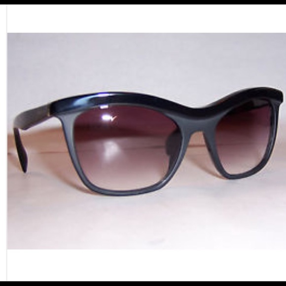 f7eb0424287 Prada Sunglasses SPR 19P Black Matte Cat Eye. M 5666075798182939520037de