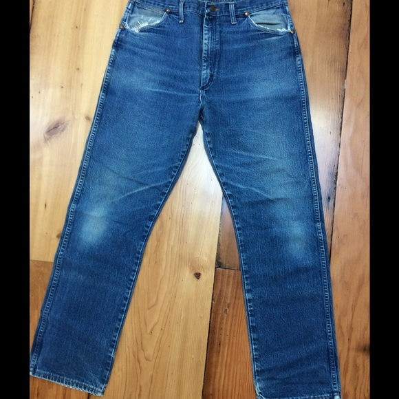 adbf8230 Wrangler Jeans | Mens Vintage Reduced | Poshmark