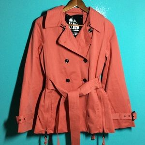 Jackets & Blazers - 🌺🌼Host Pick🌼🌺 NWOT SHORT TRENCH COAT