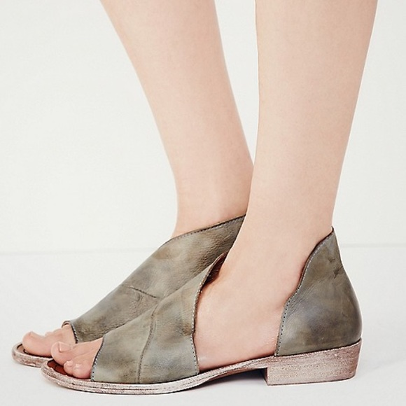 19e0aa39a Free People Shoes | Mont Blanc Sandal Washed Sage Nib 9 | Poshmark