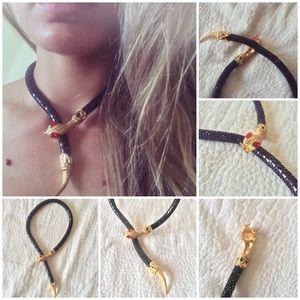 Jewelry - Cнarмιng S͙n͙a͙k͙e͙ Ғaѕнιon Necĸlace