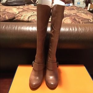 Arturo Chiang Shoes - Light Brown Leather Boots