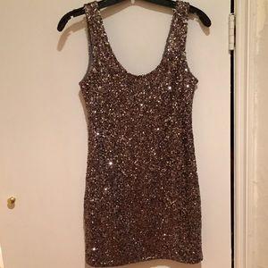 Sparkly Silver Dress by Alythea