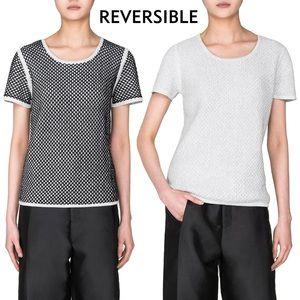 NWT Reversible Emily Keller Cotton Top