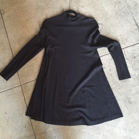 89a46f53 Zara mock neck black mini dress. M_566620842fd0b7d3b80042d5