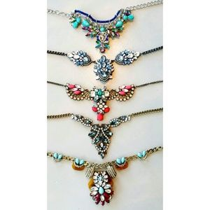 Make An Offer! 5 Statement Necklaces