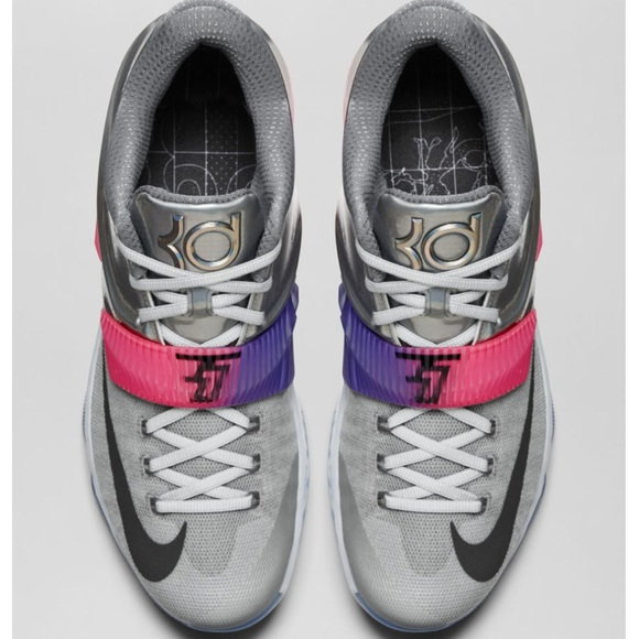 "917ddcee6187 Nike Shoes - Nike KD 7 AS ""All-Star"" silver pink"